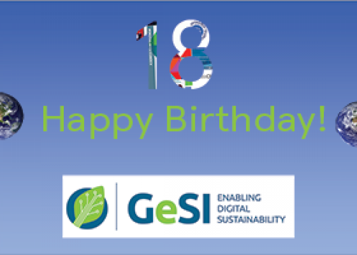 GeSI on its 18th birthday on World Enviornment Day, growing across different sectors!