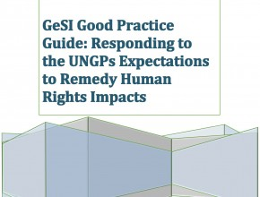 GeSI Good Practice Guide on Remedy Human Rights Impacts