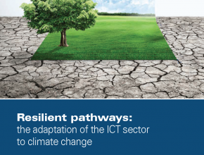 Resilient pathways: the adaptation of the ICT sector to climate change